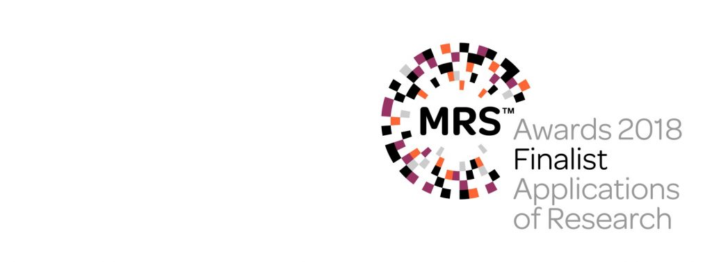 RED C are delighted to have been nominated as a finalist in the 2018 MRS Market Research Awards.